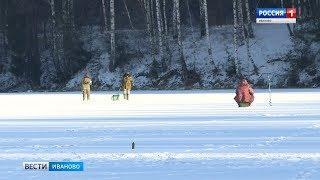 Сотрудники МЧС в Иванове рассказали рыбакам, как вести себя на льду