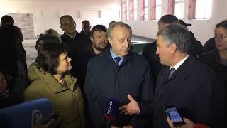 Вячеслав Володин в школе Солнечный 2