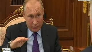 Встреча В.Путина и В.Шпорта