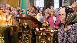 В Казанский собор доставили ковчег с частицей мощей святой блаженной Матроны Московской