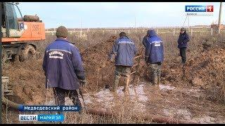 В пригороде Йошкар-Олы почти 16 тысяч человек остались без воды