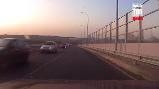 В Керчи чуть два раза не произошло ДТП из за водителей на «встречке»
