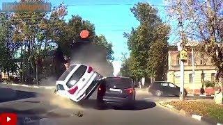 Дураки и дороги Подборка ДТП 2018 Сборник безумных водителей #185