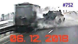 ☭★Подборка Аварий и ДТП/Russia Car Crash Compilation/#752/December 2018/#дтп#авария
