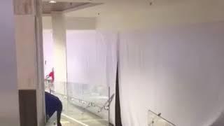 Хулиган устроил потоп в ТЦ «Космос» Ставрополя