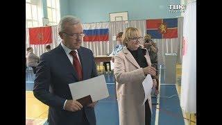 Как голосовали первые лица Красноярска