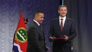 Инаугурация губернатора Амурской области Василия Орлова
