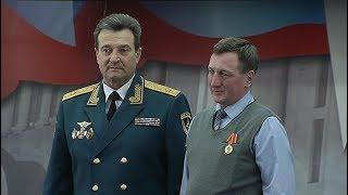 В Ханты-Мансийске наградили огнеборцев, спасавших город от пожаров в советское время