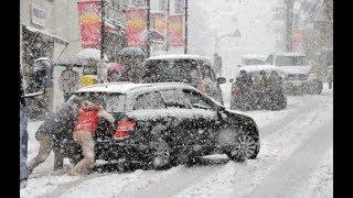 Київ засипало снігом: Майже 300 ДТП - Перші про головне. День (15.00) за 14.11.18