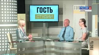 Гости студии Евгений Тверетинов и Яна Гуничева