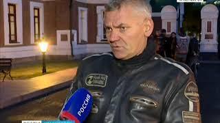 Красноярские байкеры почтили память погибших мотоциклистов