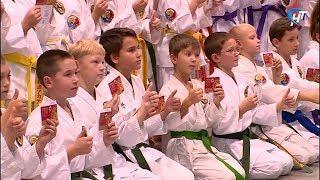 Еще 82 новгородца получили значки отличия Всероссийского физкультурно-спортивного комплекса ГТО