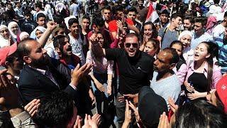«Люди вышли на улицы, люди благодарят Россию». Жительница Дамаска о первых днях после обстрела