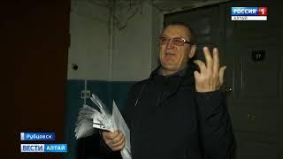 В Рубцовске разрушается один из главных городских символов «Дом под шпилем»