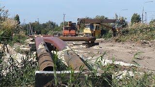 В Кировском районе завершается реконструкция теплотрассы