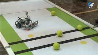 В Великом Новгороде прошли ежегодные состязания «Планета роботов»