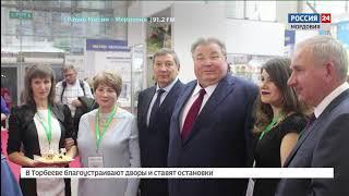 Владимир Волков представил Мордовию на всероссийской сельскохозяйственной выставке в Москве «Золотая