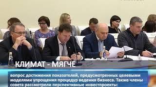 Дмитрий Азаров провел заседание совета по улучшению инвестиционного климата региона
