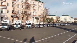 В Саранске прошел гарнизонный развод МВД