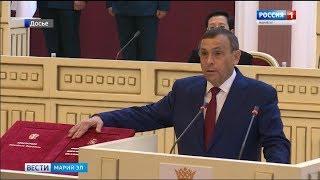 Александр Евстифеев: год на посту руководителя Марий Эл - Вести Марий Эл