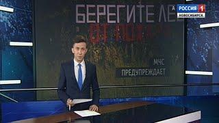 Спасатели предупредили жителей Новосибирской области о высоком риске пожаров