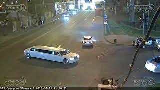 ДТП на ул. Суворова и ул. Ленина 11.04.2018