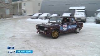 Уфимский студент своими руками переделал старую «семёрку» в гоночный автомобиль