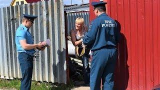Дачи Нижневартовска под прицелом спасателей