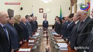 Премьер-министр Дагестана Артем Здунов провел совещание в правительстве