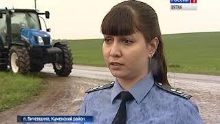 Россельхознадзор начал плановую проверку с/х земельных участков(ГТРК Вятка)