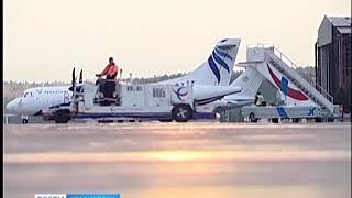 Красноярец угрожал взорвать самолёт в Новосибирске из-за спора с экипажем