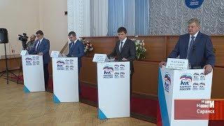 Встреча участников предварительного голосования партии «Единая Россия» с избирателями