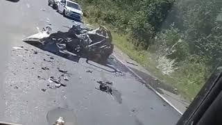 Жуткое ДТП произошло на трассе Владивосток-Хабаровск