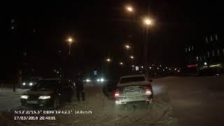 ДТП Меркулова Водопьянова 17 03 2018 Липецк