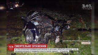 Більше десятка пасажирів автобуса потрапили до лікарні після ДТП на Львівщині