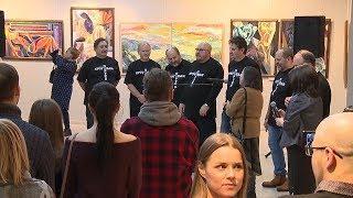 В Саранске открылась выставка московских художников «Незамкнутый круг»