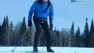 Ветераны города встали на лыжню