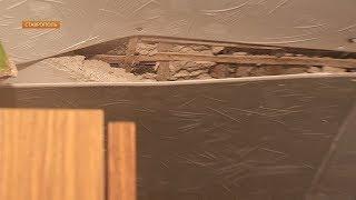 На жителей дома в центре Ставрополя может обвалиться потолок