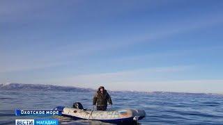 В Охотском море спасли рыбака
