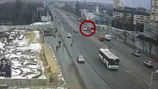 Насмерть сбили человека у ТЦ «Плаза» в Калининграде 08.03.18