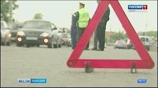 Четыре автомобиля столкнулись в Петрозаводске