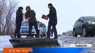 В ЗКО водитель авто погиб в результате аварии