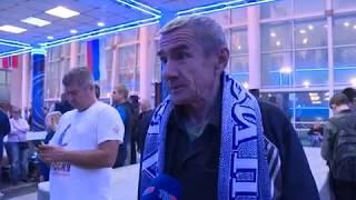 "Победа ХК ""Рязань"" над петербургским ""Динамо"""