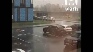Москва. Ураган в Москве. 21.04.2018. Новости.