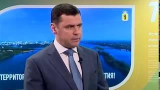 Глава региона Дмитрий Миронов выступил с докладом на заседании Совета Федерации
