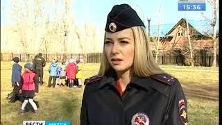 ОМОН приехал в школу № 2 Иркутска  Детей учили самообороне