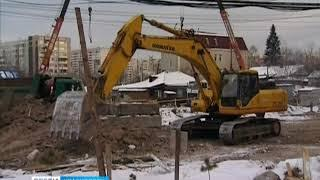 Улицу Копылова в Красноярске так и не перекрыли