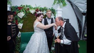"""Свита Воланда, Красавица и Чудовище-первый парад невест в Саратове. """"Прямая речь"""" от 26.06.2018 года"""