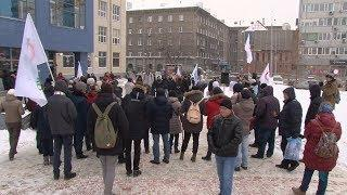 Новосибирск Митинг за свободу митингов