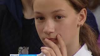 Школьникам посёлка Южный журналист ГТРК «Калининград» рассказал о боях на Донбассе